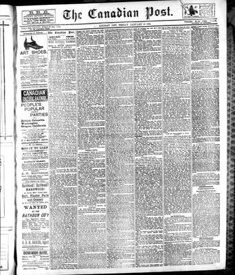 Canadian Post (Lindsay, ONT), 12 Jan 1894