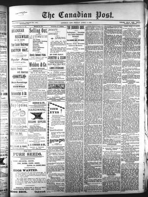 Canadian Post (Lindsay, ONT), 3 Apr 1896