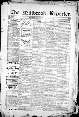 Millbrook Reporter (1856), 12 Jan 1893