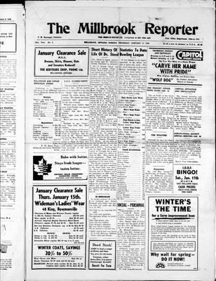 Millbrook Reporter (1856), 15 Jan 1959