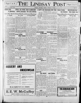 Lindsay Post (1907), 2 Jan 1914