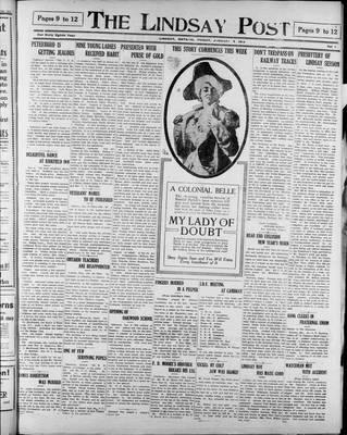 Lindsay Post (1907), 9 Jan 1914