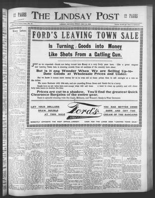 Lindsay Post (1907), 15 May 1908