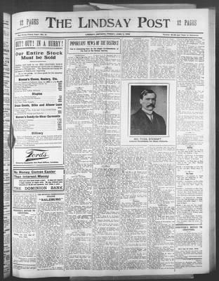 Lindsay Post (1907), 5 Jun 1908