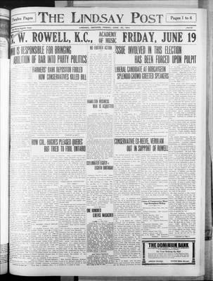 Lindsay Post (1907), 19 Jun 1914