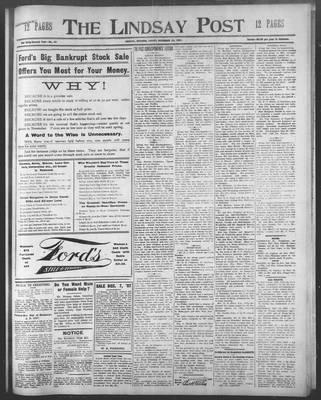 Lindsay Post (1907), 29 Nov 1907