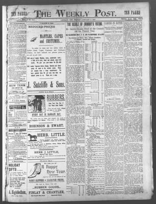 Lindsay Weekly Post (1898), 5 Jan 1900