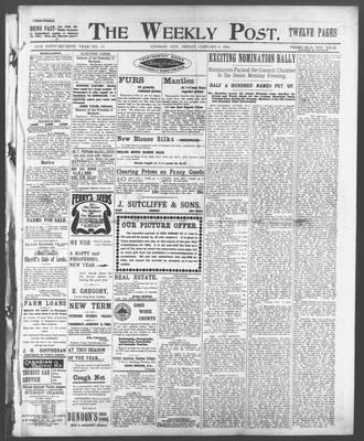 Lindsay Weekly Post (1898), 3 Jan 1902