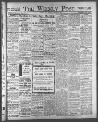 Lindsay Weekly Post (1898), 24 Jan 1902