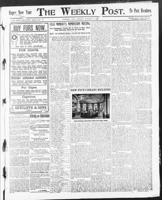 Lindsay Weekly Post (1898), 2 Jan 1903
