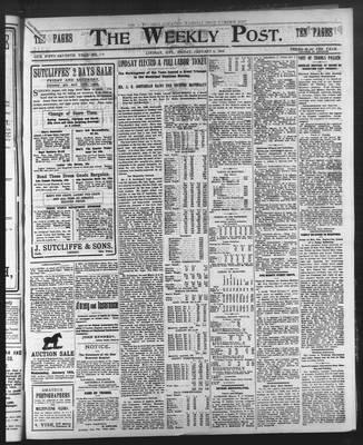 Lindsay Weekly Post (1898), 9 Jan 1903
