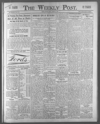 Lindsay Weekly Post (1898), 11 Jan 1907