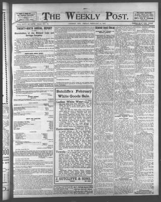 Lindsay Weekly Post (1898), 14 Feb 1902
