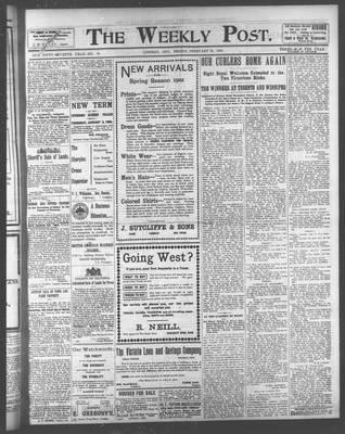 Lindsay Weekly Post (1898), 28 Feb 1902