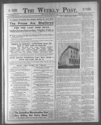 Lindsay Weekly Post (1898), 1 Feb 1907