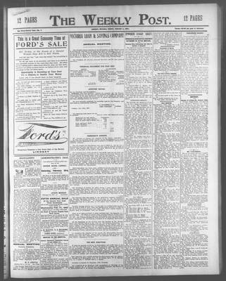 Lindsay Weekly Post (1898), 8 Feb 1907