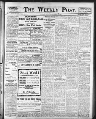 Lindsay Weekly Post (1898), 14 Mar 1902