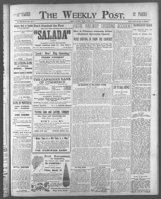 Lindsay Weekly Post (1898), 1 Mar 1907