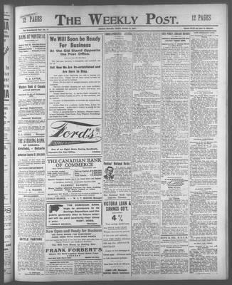 Lindsay Weekly Post (1898), 15 Mar 1907