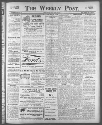 Lindsay Weekly Post (1898), 22 Mar 1907