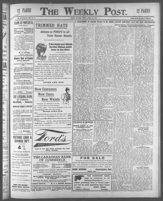 Lindsay Weekly Post (1898), 29 Mar 1907
