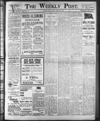 Lindsay Weekly Post (1898), 25 Apr 1902