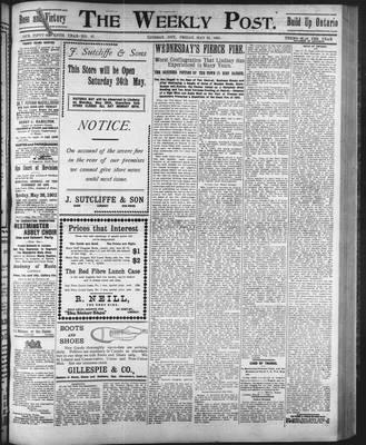 Lindsay Weekly Post (1898), 23 May 1902