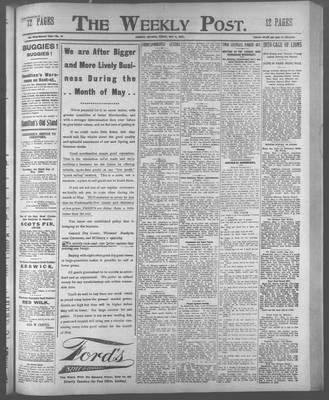 Lindsay Weekly Post (1898), 3 May 1907