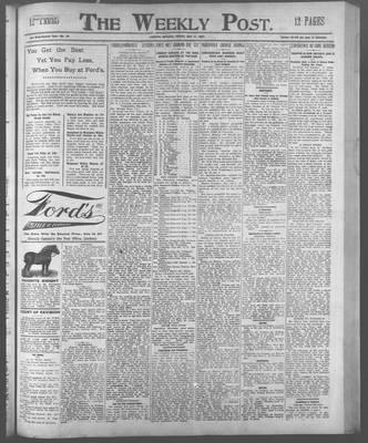 Lindsay Weekly Post (1898), 17 May 1907