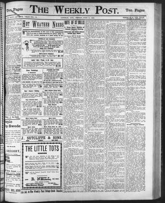 Lindsay Weekly Post (1898), 13 Jun 1902
