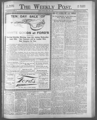 Lindsay Weekly Post (1898), 7 Jun 1907