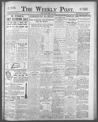 Lindsay Weekly Post (1898), 5 Jul 1907