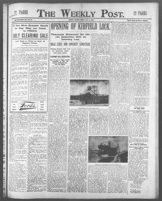 Lindsay Weekly Post (1898), 12 Jul 1907