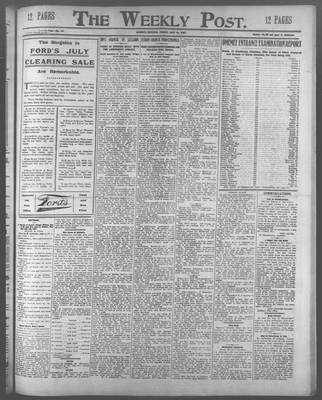 Lindsay Weekly Post (1898), 19 Jul 1907