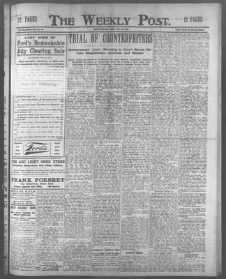 Lindsay Weekly Post (1898), 26 Jul 1907
