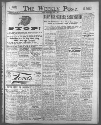 Lindsay Weekly Post (1898), 2 Aug 1907