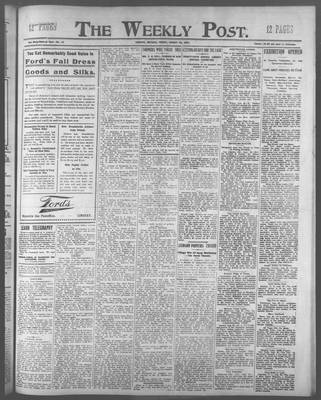 Lindsay Weekly Post (1898), 30 Aug 1907