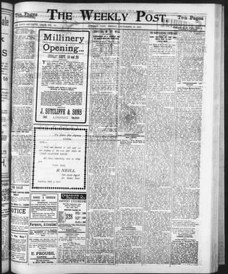 Lindsay Weekly Post (1898), 12 Sep 1902