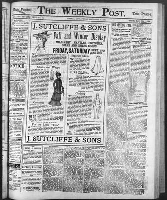 Lindsay Weekly Post (1898), 19 Sep 1902