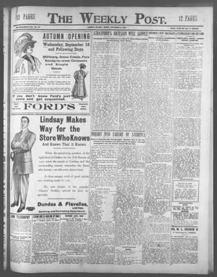 Lindsay Weekly Post (1898), 6 Sep 1907