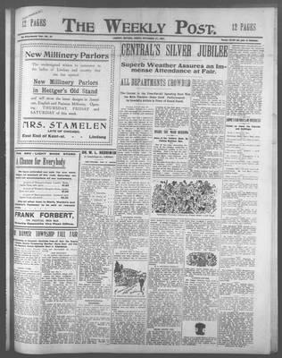 Lindsay Weekly Post (1898), 27 Sep 1907