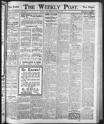 Lindsay Weekly Post (1898), 10 Oct 1902