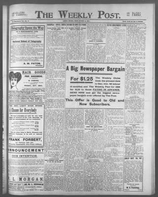 Lindsay Weekly Post (1898), 18 Oct 1907