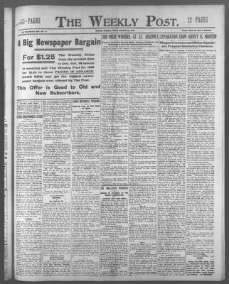 Lindsay Weekly Post (1898), 25 Oct 1907