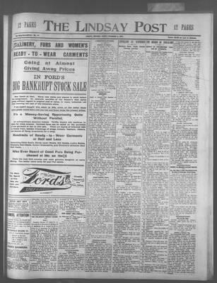 Lindsay Post (1907), 8 Nov 1907