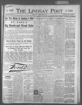 Lindsay Post (1907), 15 Nov 1907