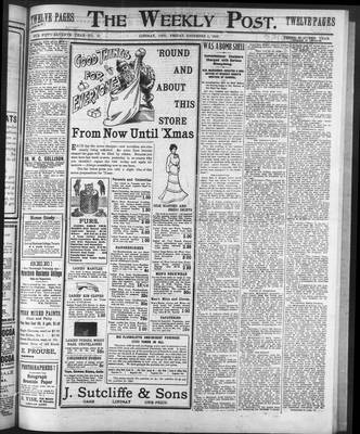 Lindsay Weekly Post (1898), 5 Dec 1902