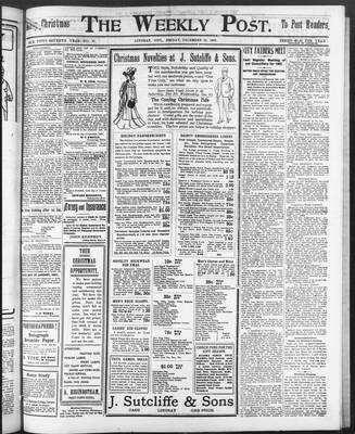 Lindsay Weekly Post (1898), 19 Dec 1902