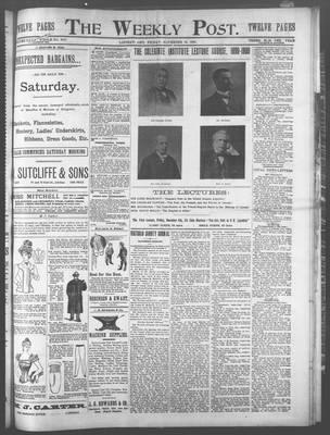 Lindsay Weekly Post (1898), 24 Nov 1899