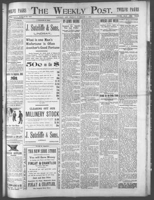 Lindsay Weekly Post (1898), 8 Dec 1899